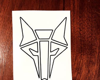 House Mars outline decal Red Rising Pierce Brown