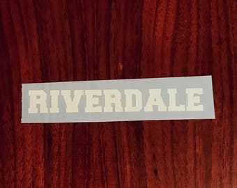 Riverdale vinyl decal