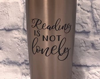 Custom Decal 20 Ounce Tumbler