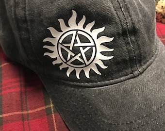 Supernatural Anti Possession Hat