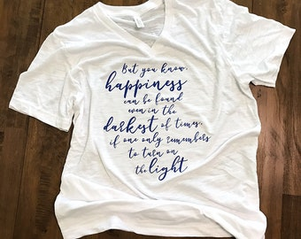 Happiness can be found Harry Potter T Shirt