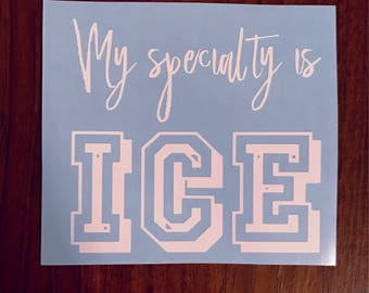 My specialty is ice Veronica Lodge Riverdale vinyl decal