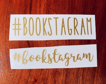 Bookstagram vinyl decal