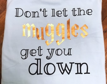 Don't let the muggles get you down pocket tank Harry Potter