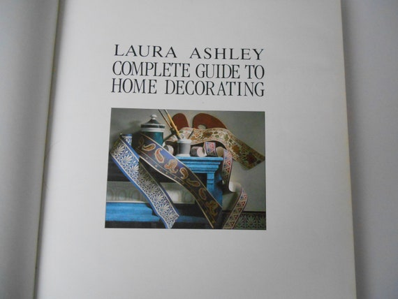 Laura Ashley Guide To Home Decorating 1989 Hardback