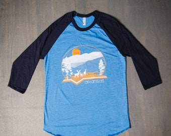 Arkansas Deer raglan