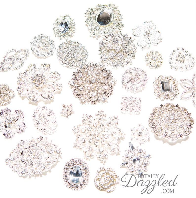 10pcs DIY Brooch Bouquet Supplies Mixed Pack Wedding ...