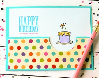 Funny Birthday Card - Sarcastic Bday Cards - Happy Birthday Her - Daughter Bday - Sister Birthday - Cards For Girlfriend - Cute Card For Her