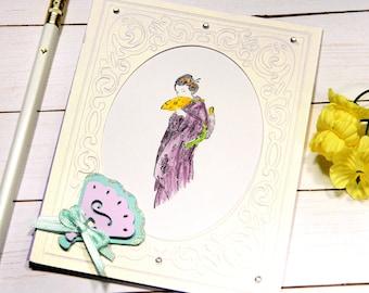 Geisha Birthday Card - Japanese Geisha - Girlfriend Bday Card - Bday Card For Mother - Card She Birthday - Stampin Up Cards - Cricut Card