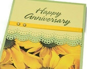 Greeting Cards - Anniversary Cards - Happy Anniversary - Wedding Anniversary - Paper Anniversary - Stampin' Up Cards - Handmade Cards
