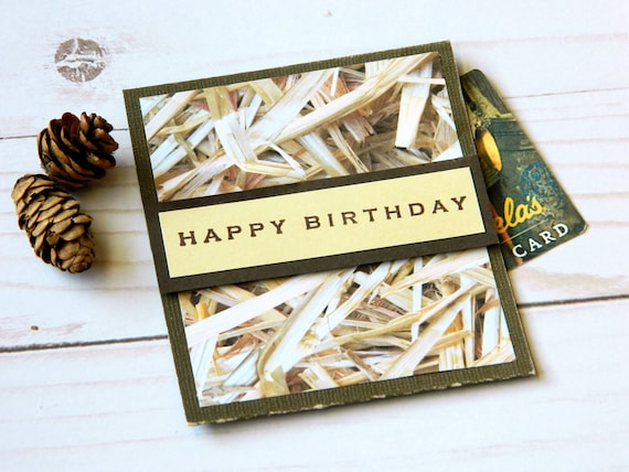 Birthday Money Gifts Bday Gift Cards Gift Card Holder Etsy