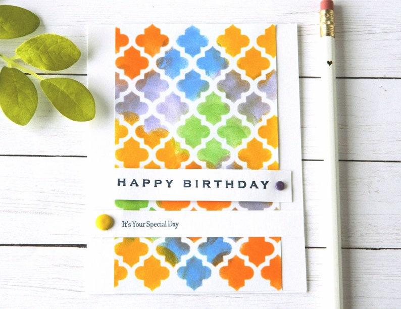 Cartes Anniversaire Pour Femme Joyeux Anniversaire Sa Carrelage Marocain Cartes Danniversaire Pour Maman Copine Danniversaire De Carte