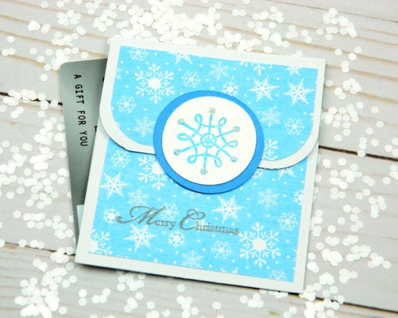 Christmas Gift Card Holder Ideas.Christmas Gift Card Holder Holiday Gift Cards Credit Card Envelope Snowflake Envelope Christmas Wrapping Ideas For Gift Wrap