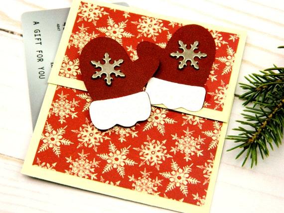 Christmas Gift CardCash Holder