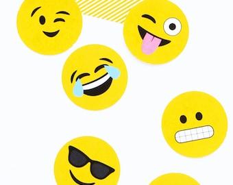 photo regarding Printable Emoji named Emoji Occasion Decor Banner Printable PDF Etsy