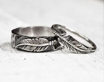 Unique Couple Rings Etsy