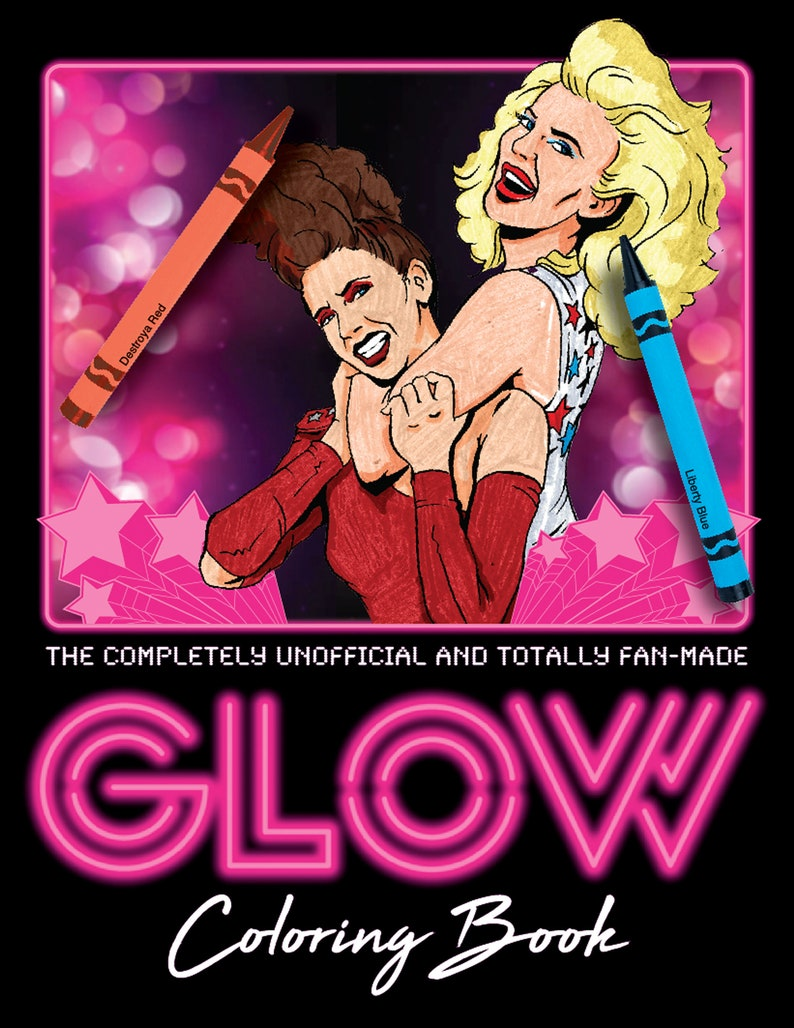 Netflix GLOW Coloring Book image 0