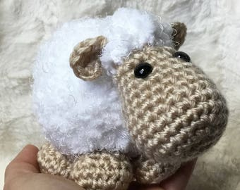 Amigurumi sheep, Amigurumi lamb,Borreguito de la abundancia,Crochet lamb, Easter gift,Crochet sheep,Stuffed sheep