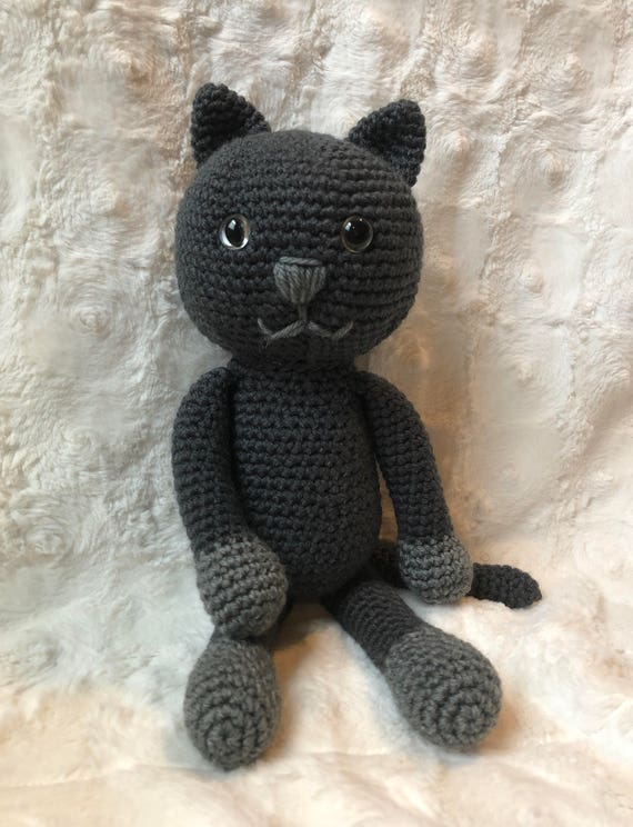 Gato amigurumi. | Crochet cat pattern, Crochet cat, Handcrafted toys | 744x570