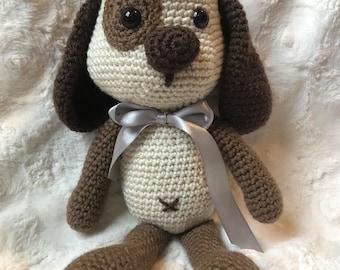 Henry the little dog, Crochet dog, Crocheted dog, Amigurumi dog, Perrito tejido, Handmade dog, Perro tejido