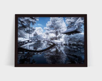 Tatton Park in Infrared - Original Photographic Print