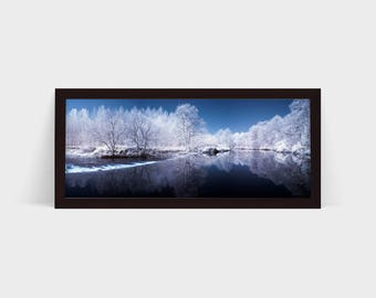 Infrared River - Original Photographic Print