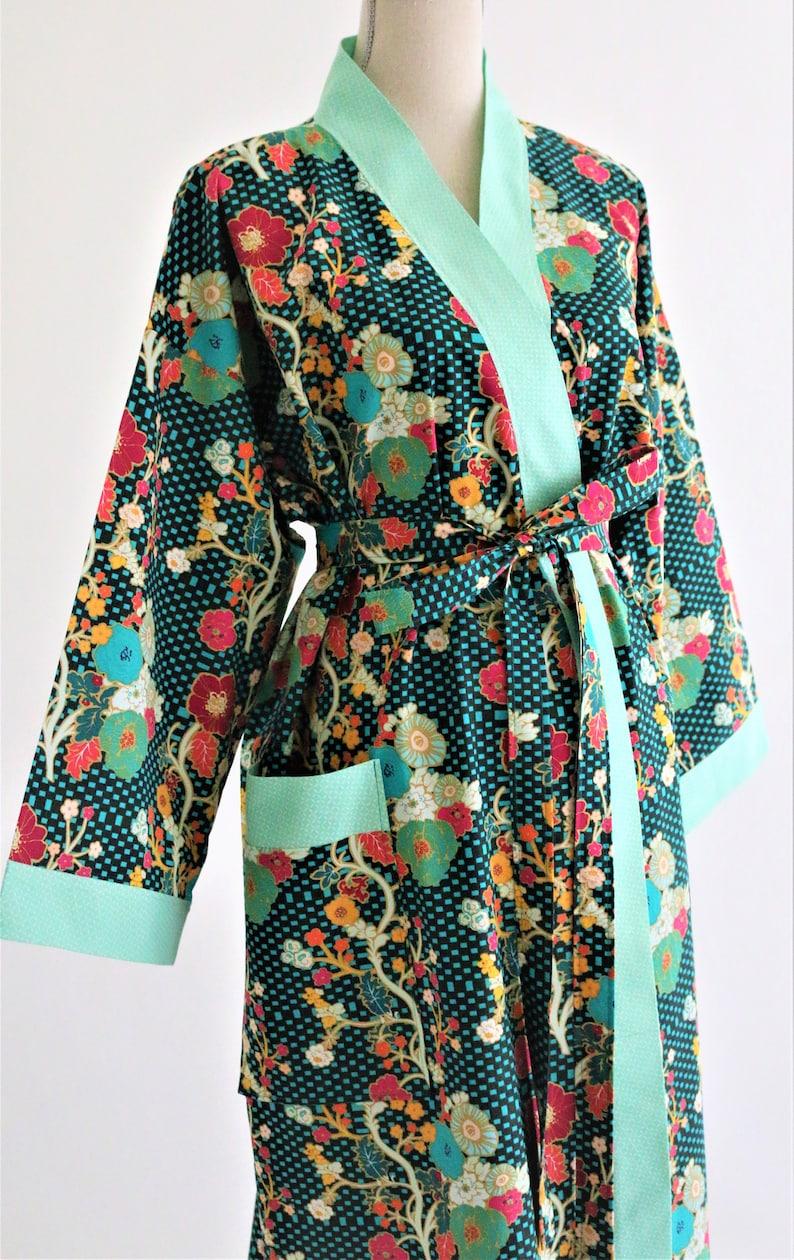 Custom Cotton Kimono Robe CUSTOM Luxury Kimono Robe