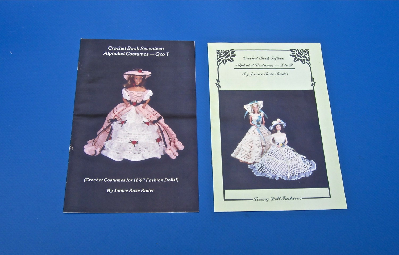 Barbie Doll Crochet Pattern Booklets 2 Etsy