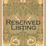Reserved Listing for Amelie