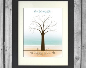Medium Beach Wedding Tree
