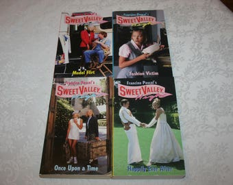 Two 2 Vintage Sweet Valley High Series Romance Teen Paperback Etsy