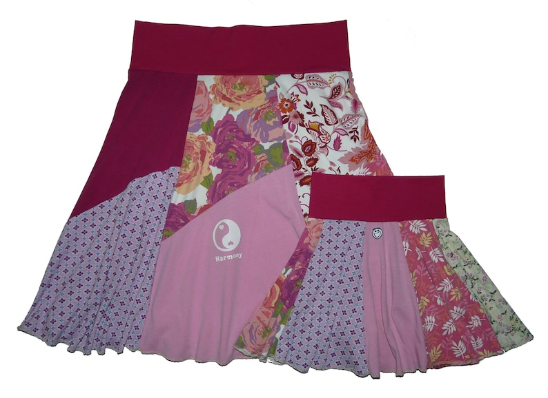 0cadb4eb2ea16 SALE Matching Skirts Mother Daughter Skirts Mommy and Me Skirts Women's  Large XL 12 14 16 and Girls 4T Twinkle Skirts Twinklewear