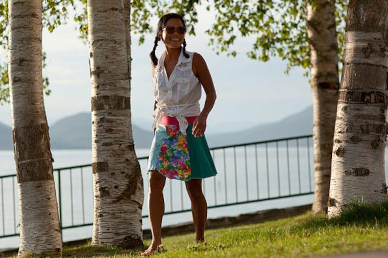 Summer Skirt Women/'s Small Medium Above the Knee Guitar T-Shirt Skirt Yoga Skirt Twinkle skirts Twinklewear