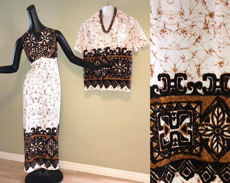 Maxi Dress Hawaiian Wedding