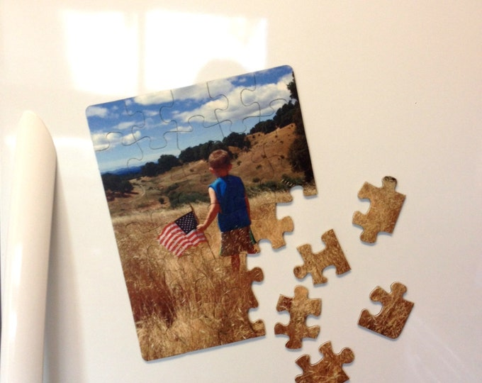 Custom 30 Piece Magnetic Puzzle