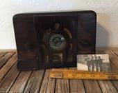Antique Royale Wood Radio