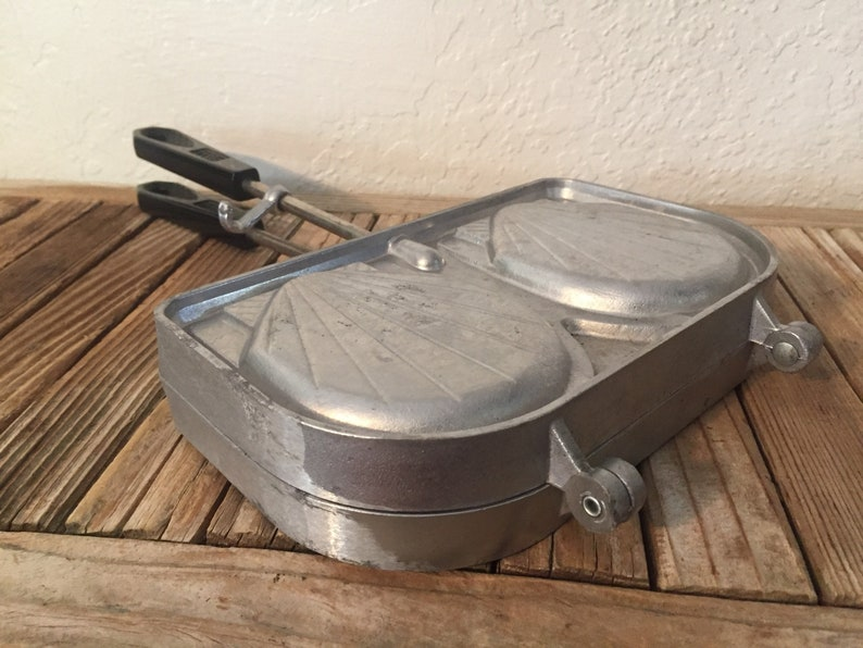 France Vintage French Reversible Waffle Maker S.E.F.A.M.A
