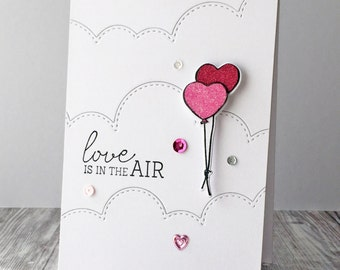 Love Balloons Card