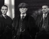 The Shelby Brothers - Peaky Blinders - 1920s Gangster Fashion - 9x12