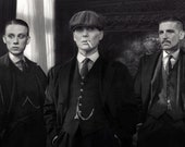 The Shelby Brothers - Peaky Blinders - 1920s Gangster Fashion