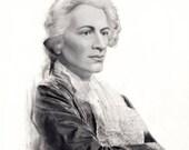 Wolfgang Amadeus Mozart Hyper Realistic Portrait