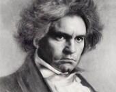 Ludwig van Beethoven Hyper realistic Portrait