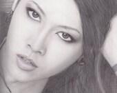Miyavi Portrait - 9x12...