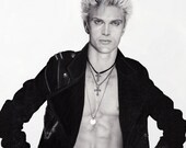 Billy Idol Portrait - 9x1...