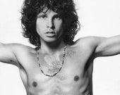 Jim Morrison - Young Lion - Charcoal and Pencil Portrait - The Doors