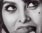 Sophia Loren Face Study