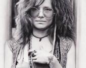 Janis Joplin - Like a pearl, A pearl of a girl - Portrait