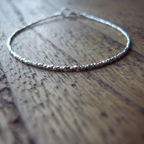 Jain Bracelet Delicate Necklace Dainty Necklace Silver Etsy