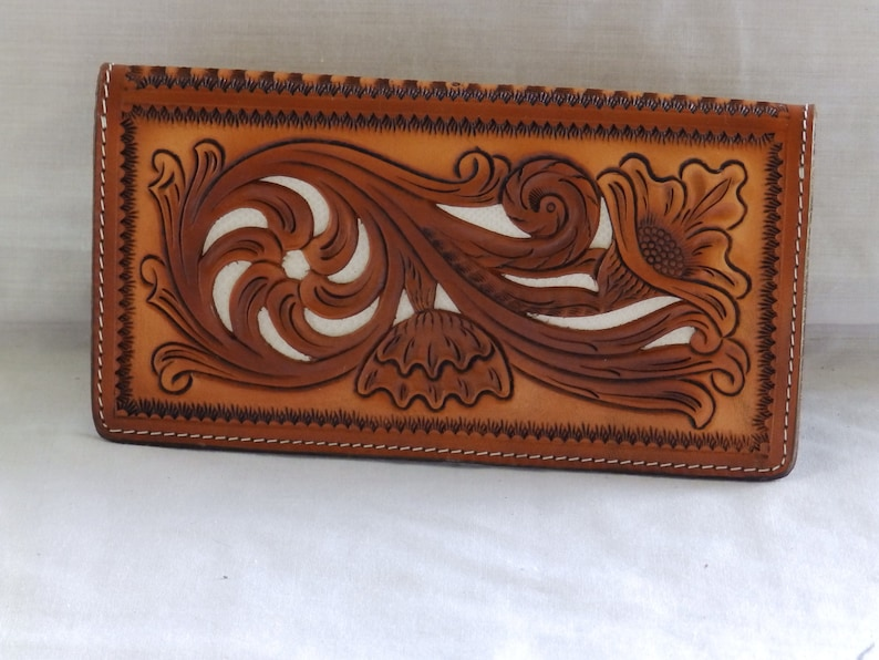 792d042e75b8 Leather Real water snake skin checkbook Cover