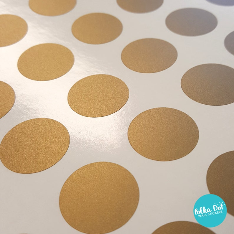 One Inch Vinyl Polka Dot Stickers Mini Pack